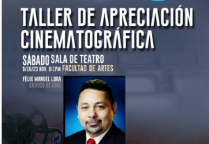 UASD anuncia Taller de  Apreciación Cinematográfica