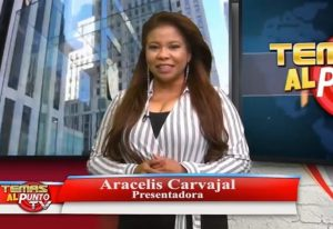 Periodista Aracelis Carvajal niega pertenezca a La Fuerza del Pueblo