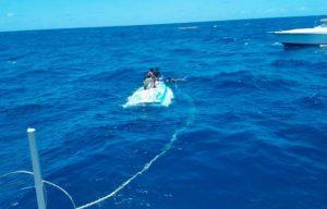 Un muerto y un desaparecido en naufragio de yola iba a Puerto Rico