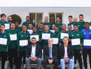 FIFA realiza curso para entrenadores de Fútbol Sala
