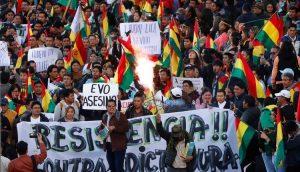BOLIVIA: Grupos cívicos dan 48 horas a Evo Morales para renunciar