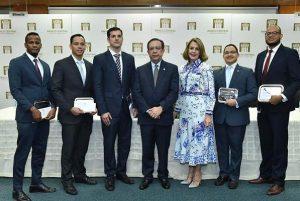 BC premia ganadores 'Concurso Economía Biblioteca Juan Pablo Duarte 2019'