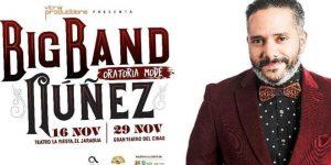 Pavel Núñez va con su Big Band este sábado al teatro La Fiesta del Jaragua