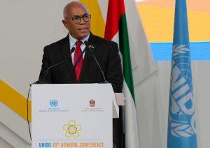 Emiratos Árabes: MICM participa en la decimoctava reunión de ONUDI