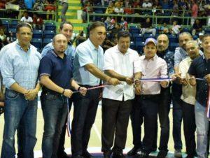 Inicia XXVI Torneo de Baloncesto de La Vega