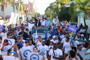 Manuel Jiménez ve «brisas de cambio» en Santo Domingo Este