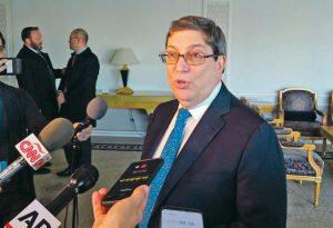 Cuba denuncia EEUU presiona países de AL no voten contra embargo