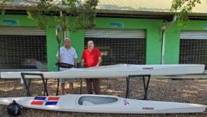 Fedoreca dona embarcaciones a Canotaje de Samaná