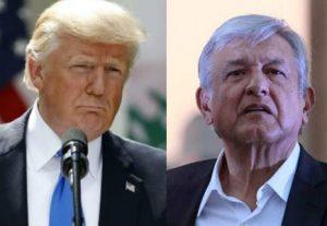 """Trump discute con López Obrador la """"creciente violencia"""" de los carteles"""