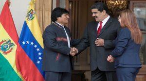 Maduro y la izquierda de AL denuncian un 'golpe de Estado' en Bolivia