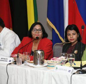 Reeligen peledeista Flavia Garcíasecretaria general de Mujeres de la COPPPAL