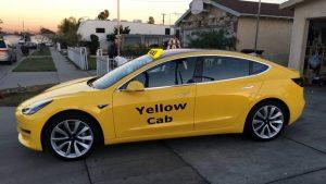 El auto eléctrico Tesla Model 3 será el próximo taxi de Nueva York
