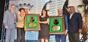Adriano Tejada y Héctor Pereyra reciben el Premio Hanns Hieronimus