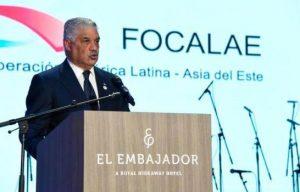 """Canciller RD pide un Focalae """"eficaz"""" a favor de AL y Asia"""