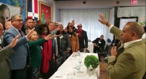 BOSTON: Sector Externo Luis Abinader juramenta comité