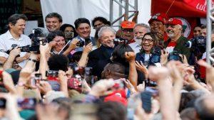 Líderes políticos de Latinoamérica celebran libertad de Lula
