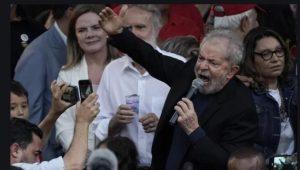 BRASIL: Expresidente Lula en libertad después de 580 preso