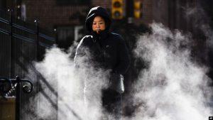 EEUU: Ola de aire polar continúa con temperaturas récords hasta Canadá