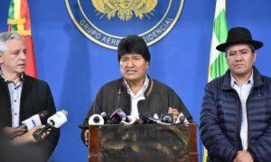 BOLIVIA: Tras un informe de la OEA, Morales anuncia nuevas elecciones
