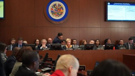 EEUU: 15 países piden ante la OEA nuevas elecciones en Bolivia