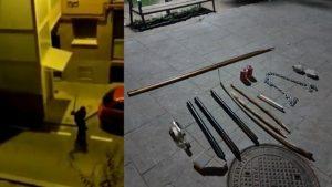 MADRID: El asalto al centro de menas se hizo al grito de guerra de los Trinitarios