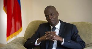 Presidente de Haití por restaurar paz en el país
