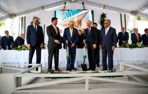 Danilo Medina inicia nuevas obras en Hospital Metropolitano de Santiago