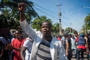 HAITI: Masivas protestas acentúan crisis mantiene el país paralizado