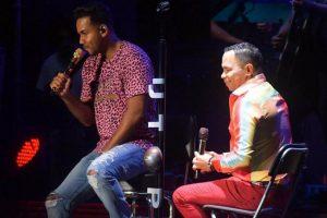 """Romeo Santos continúa la """"Gira del pueblo"""" en Nagua"""