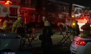 Fuego en El Bronx deja al menos 14 policías y dos civiles heridos