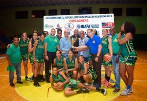 San Carlos gana Interclubes de Baloncesto Femenino