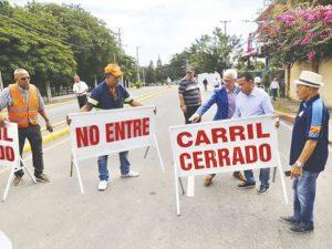 Reabren tramo de la calle Del Sol cerrado tras derrumbe mató cinco