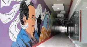 Roban obras de arte del Túnel Cultural Danilo de los Santos