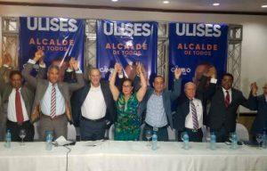 El PRM presenta a Ulises Rodríguez como su candidato a la Alcaldía
