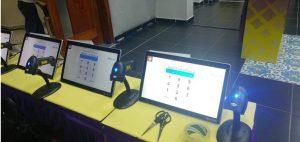 La JCE presentó lector de huellas  dactilares para voto automatizado