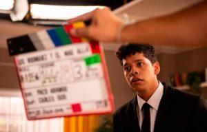 Un joven actor dominicano se destaca en película española