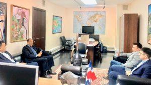 RUSIA: Embajador RD promueve acuerdo con el Instituto Aviación