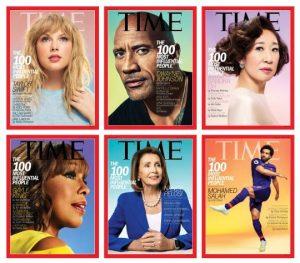 Taylor Swift, Dwayne Johnson y Nancy Pelosi entre más influyentes
