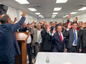 Organización Luis Abinader juramenta su comité en NY