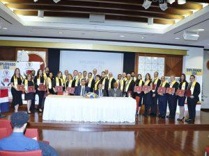 PUCMM y CESUDEX gradúan 34 estudiantes realizaron diplomado