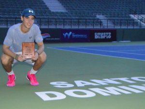Torneos internacionales impulsan tenistas dominicanos