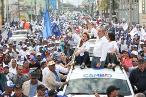 Luis Abinader proclamael Distrito Nacional decidió el cambio va en 2020