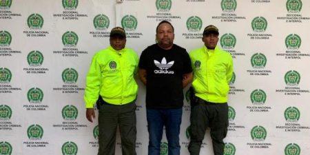 Será directamente extraditado a E.U. capo de la RD detenido en Colombia
