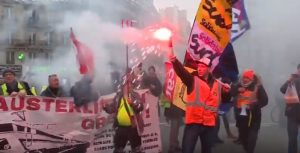 FRANCIA: Huelga ferroviaria podría convertirse más larga de la historia