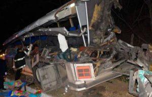 GUATEMALA: 20 muertos y 23 heridos durante un accidente
