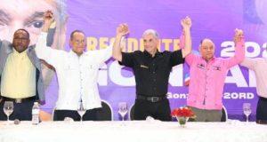 Líderes sindicales de la RD apoyan al candidato del PLD Gonzalo Castillo