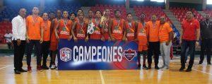 Santiago conquista el torneo nacional de basquet U-14