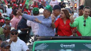 Leonel encabezará caravana Distrito Nacional y provincia Santo Domingo
