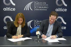 Altice y Grupo Corripio firman acuerdo para transmisión juegos de la MLB