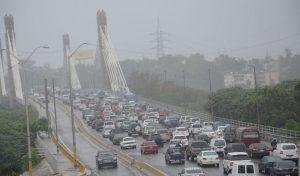 Lluvias afectan gran parte de la RD; advierten sobre oleajes anormales